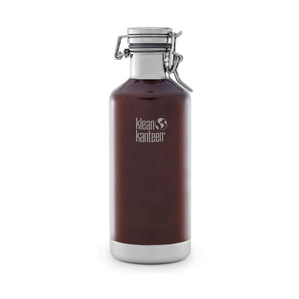 [Klean Kanteen]K.K.32oz快扣保溫啤 酒鋼瓶 深琥珀(K32VCSLK-DA)