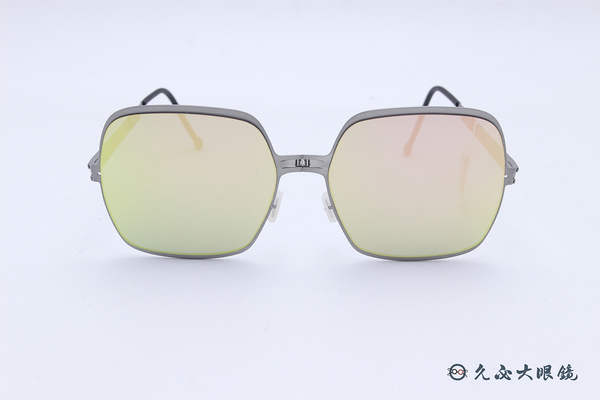 ROAV 偏光太陽眼鏡 MARILYN - Mod.SS010 ( 銀框/粉水銀 ) 薄鋼折疊墨鏡