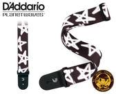 【小麥老師樂器館】D'Addario Planet Waves P20W1500 吉他背帶 星星塗鴉 背帶 吉他 木吉他