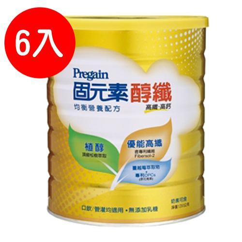 固元素 醇纖配方(成人)1350g*6罐【德芳保健藥妝】