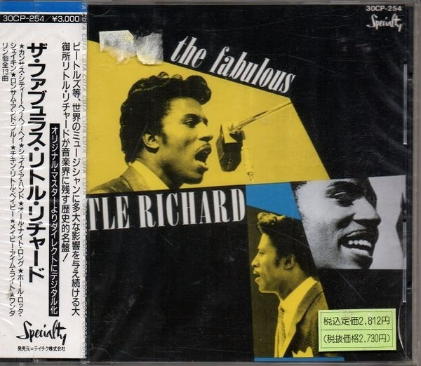 停看聽音響唱片】【CD】THE FABULOUS LITTLE RICHARD