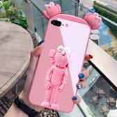 iPhone 6 6S Plus 卡通立體芝麻街 手機殼 外殼 玻璃殼 防摔保護殼 卡通保護套 手機套 iPhone6