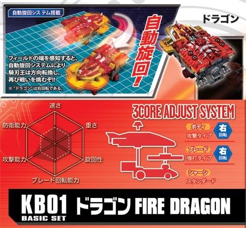騎刃王 KB01 龍王牙 (右旋攻擊型)_ KB80241