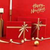 新年禮品盒大號長方形禮物盒圍巾包裝盒商務情人節包裝禮品盒mandyc衣間