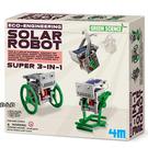 《4M科學探索》 太陽能小幫手 3-in-1 Mini Solar Robot ╭★ JOYBUS玩具百貨