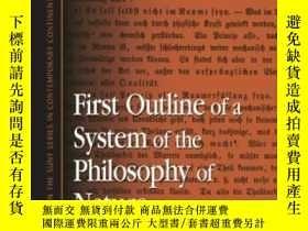 二手書博民逛書店First罕見Outline Of A System Of The Philosophy Of Nature-自然