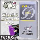 熱銷保險套 愛貓 超馬超粗螺紋+顆粒衛生...