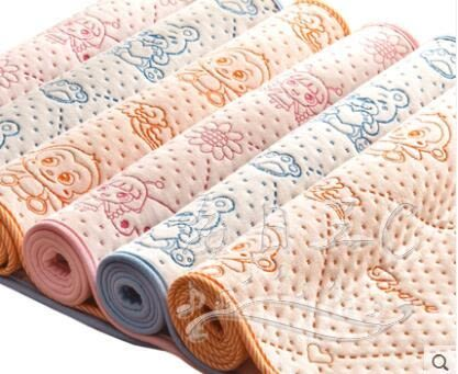 嬰兒防水透氣可洗棉小床墊xx4464【每日三C】