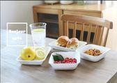 日本進口簡約白色廚房料理收納托盤3件套裝 st1531『伊人雅舍』