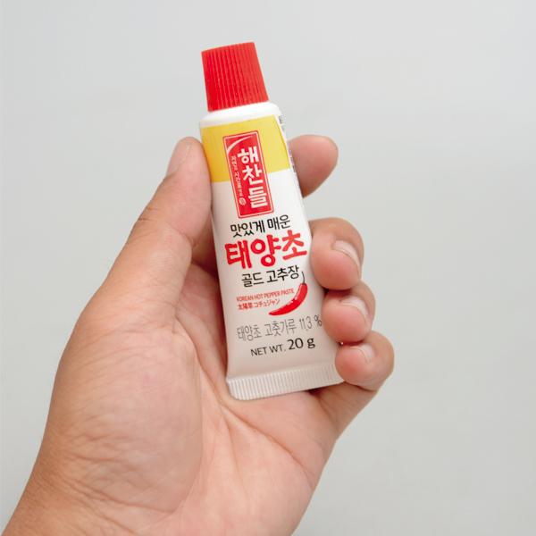 CJ 迷你管狀辣椒醬 20g