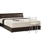 床架 AT-61-15A 胡桃山寨3.5尺雙人床 (床頭+床底)(不含床墊) 【大眾家居舘】