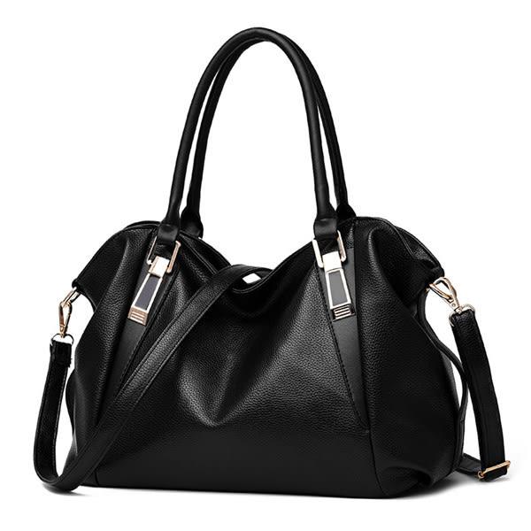 側背包 新款優質大容量側背包/手提包/斜背包(現貨販售) -寶來小舖【蘭井36212】