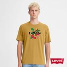 Levis 男款 短袖T恤 / 翻玩夏日LogoT / 櫻桃Logo / 寬鬆休閒版型