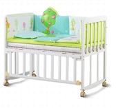 【非主圖款】嬰兒床實木無漆可拼接大床