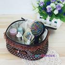 【我們網路購物商城】可愛圓點化妝包 化妝包 行李整理袋 玩具收納袋