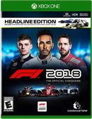 預購2017/8/24 特典付Xbox One F1 2018 一級方程式賽車 2018 亞版英文版