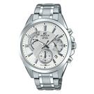 CASIO EDIFICE 動感逆行錶盤計時錶(EFV-580D-7A)-白x51mm