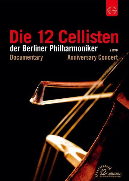 柏林愛樂12把大提琴 40週年慶祝音樂會 DVD (音樂影片購)