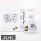 牆面收納 收納壁板 收納牆 牆面裝飾【G0085】inpegboard半半洞洞板500*800*15mm 韓國製 收納專科