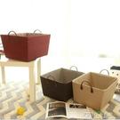 大號出口日式加厚家用編織筐臟衣籃玩具收納筐零食整理箱大儲物箱 探索先鋒