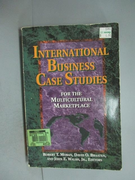 【書寶二手書T5/大學商學_XDF】International Business Case Studies for th