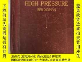 二手書博民逛書店the罕見physics of high pressure(H1
