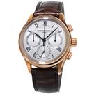 康斯登 CONSTANT 自製機芯返馳式計時腕錶   FC-760MC4H4