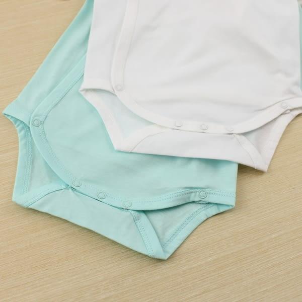 【愛的世界】純棉綁帶長袖包屁衣2件組/3~6個月-台灣製- ★幼服推薦 超值特惠
