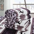 珊瑚絨毯子法蘭絨毛毯蓋毯加厚學生單人床單單件空調毛巾被子四季