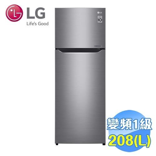 LG 208公升雙門變頻冰箱 GN-L297SV