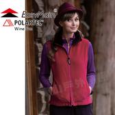 EasyMain 衣力美 V1480-61紫紅色 女防風保暖透氣背心