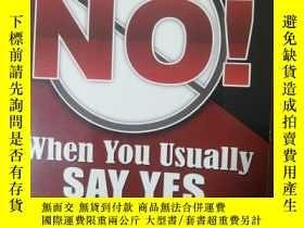 二手書博民逛書店Learning罕見How to Say No When You