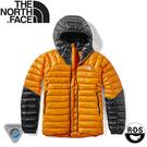 【The North Face 女 Summit Perex 連帽羽絨外套《黃/黑》】3SPS/羽絨衣/保暖外套