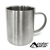PolarStar 304不鏽鋼杯 400ML 戶外 露營 登山 馬克杯 不銹鋼杯 隔熱杯 野餐杯 1818077