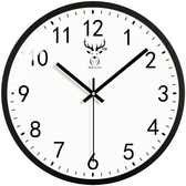 金屬靜音掛鐘客廳鐘錶時鐘北歐式
