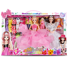 芭比娃娃 換裝洋娃娃套裝大禮盒女孩公主兒童玩具仿真夢想豪宅【快速出貨】