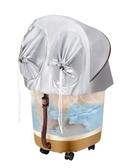 康汗蒸全自動按摩加熱電動足浴盆足器洗腳盆泡腳桶深桶家用220VATF 格蘭小舖