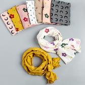 兒童圍巾春秋薄款女童百搭棉防沙圍脖洋氣韓版秋季嬰兒寶寶圍巾潮