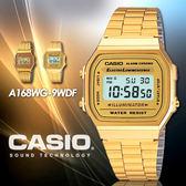 CASIO A168WG-9 實用多功能電子錶 A168WG-9WDF 現貨+排單 熱賣中!