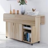 折疊桌簡約小方桌餐桌家用桌子折疊簡易小桌子租房靠墻飯桌可移動 KV5910 【野之旅】