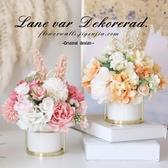 仿真花假花擺件干花束北歐茶幾桌面裝飾花擺設【聚可愛】
