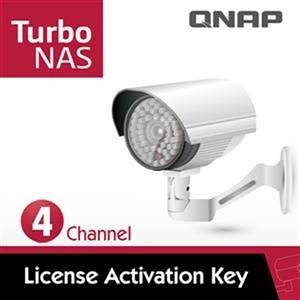 【綠蔭-免運】QNAP LIC-SW-SURVEILLANCE-4CH 攝影機授權