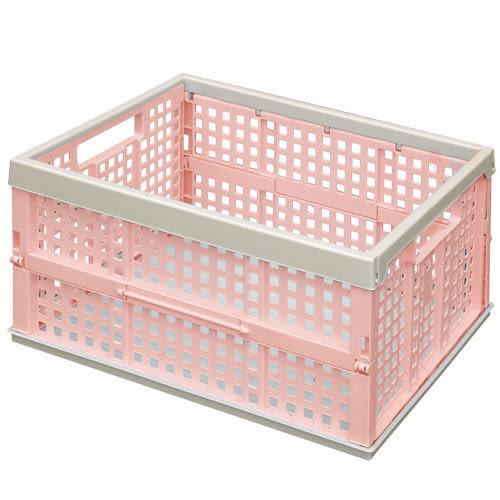 《真心良品》百事中型折疊收納籃(6入)