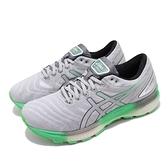 【六折特賣】Asics 慢跑鞋 Gel-Nimbus Lite 灰 綠 男鞋 避震穩定 運動鞋 【ACS】 1011A782101