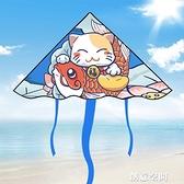 濰坊風箏2021年新款中國風網紅微風易飛專用手持小兒童大人大型 NMS創意新品