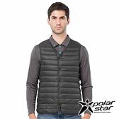PolarStar 中性 內穿羽絨背心『黑』P18245 登山 露營 保暖 禦寒 防風 鋪棉 羽絨 夾克