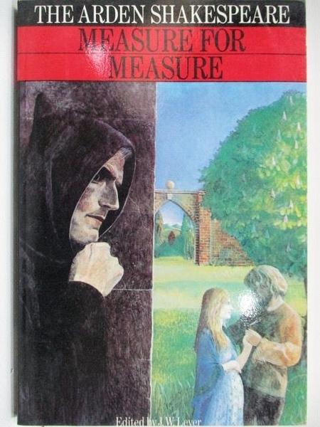 【書寶二手書T1/原文小說_A29】Measure For Measure_The Arden Shakespeare