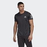 Adidas 男款 黑色 Own the Run 短袖上衣 FS9799 【KAORACER】