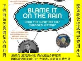 二手書博民逛書店Blame罕見It On The RainY364682 Laura Lee Harper Paperback