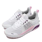 Puma 慢跑鞋 Anzarun Jr 白 粉紅 女鞋 童鞋 大童鞋 基本款 運動鞋【ACS】 37203511